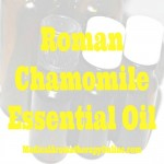 roman chamomile aromatherapy oil