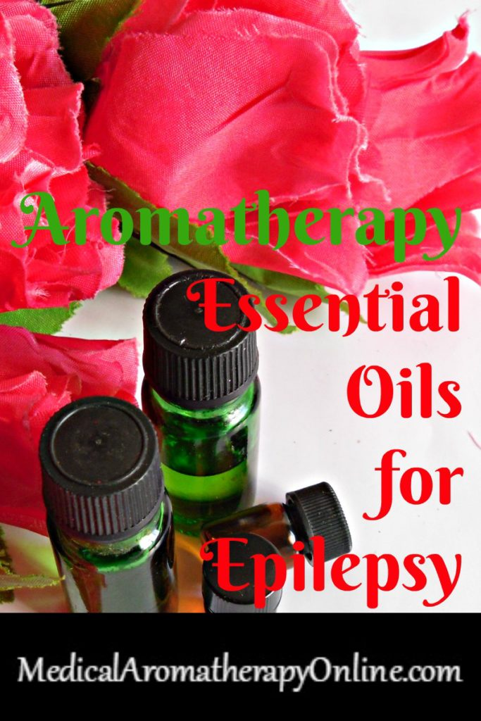 Aromatherapy essential oils for epilepsy convulsions